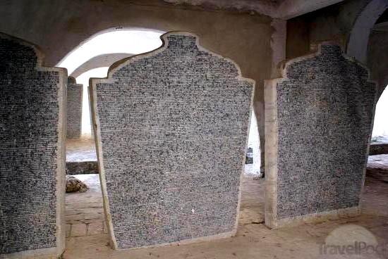 Kuthodaw headstones