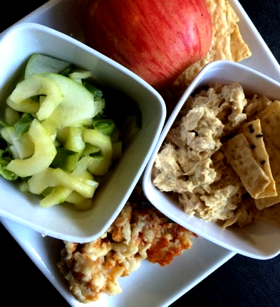 Kathryn's Tuna Salad & Cheese Biscuits