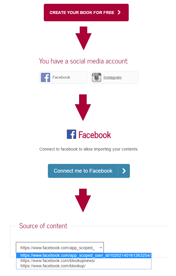 How to import your Facebook Pages