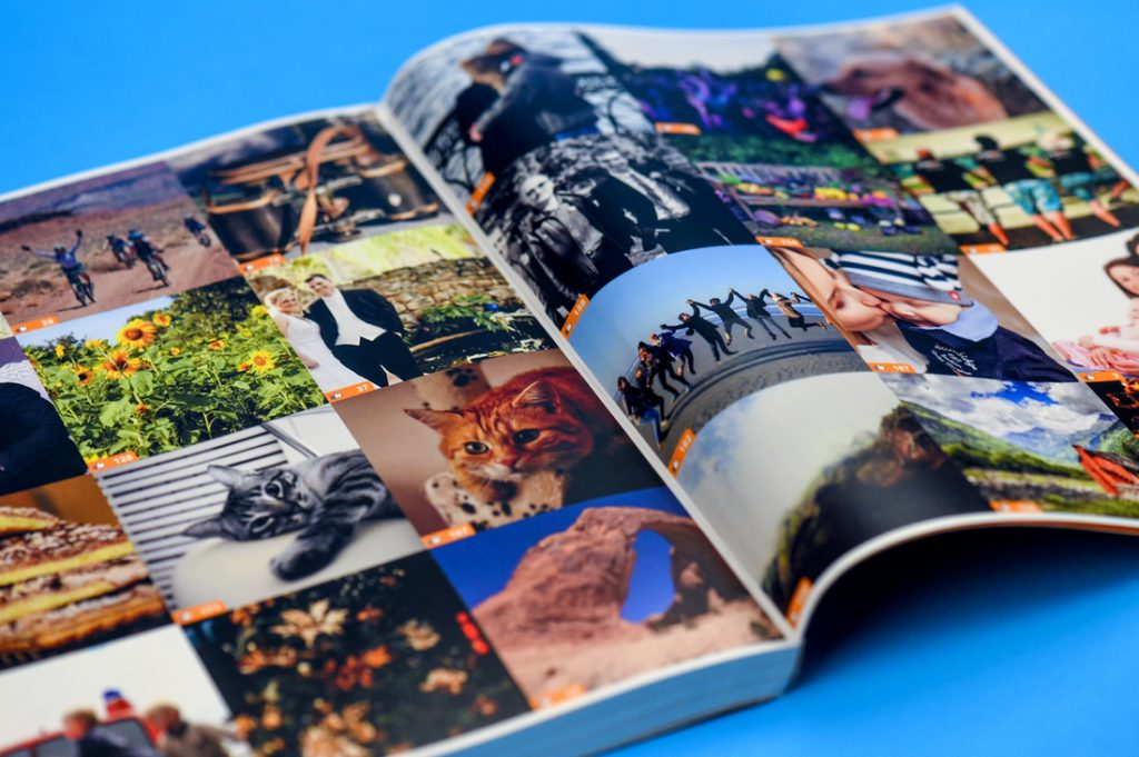 Facebook Book Mozaïc images