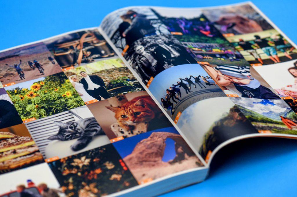 Facebook Book Mozaïc images