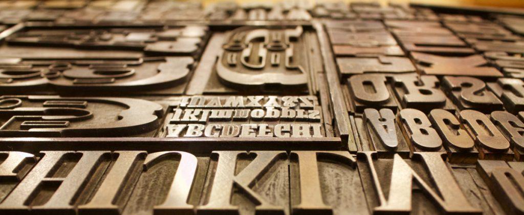 A font board