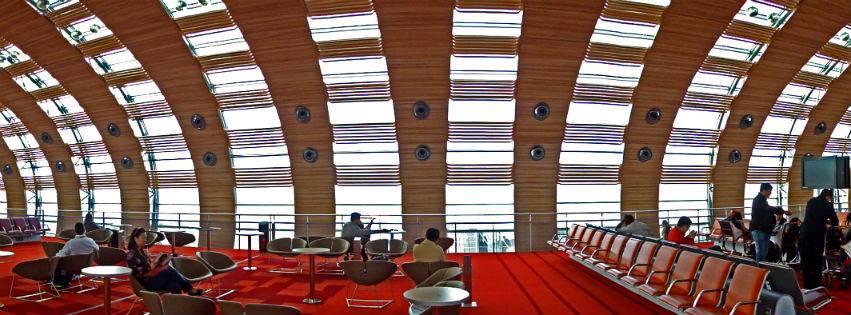Inside the aeroport of paris headquarters