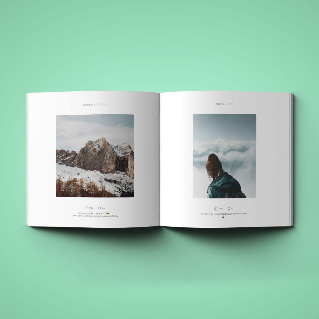 Instagram book inner photos