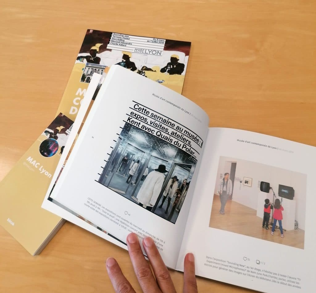 The social media books of the international museum of lyon