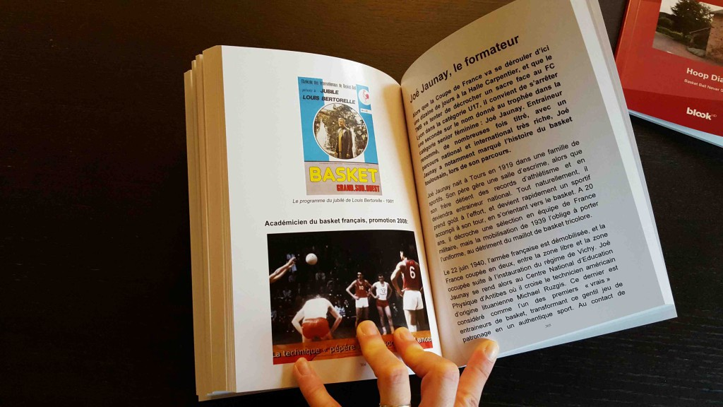 A book with instagram basketball pictures