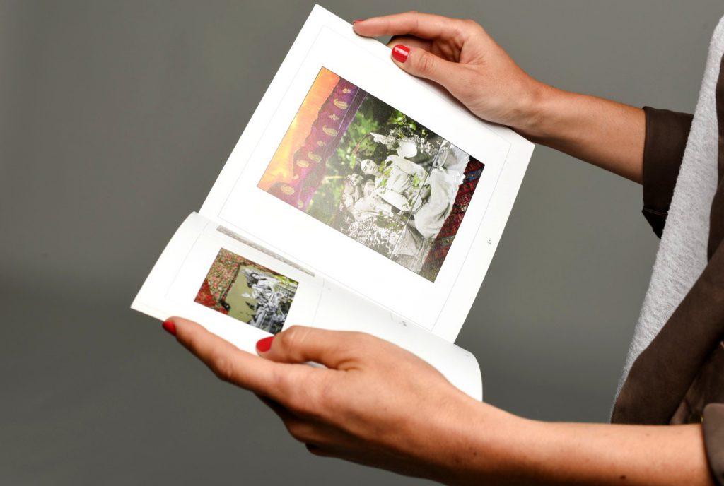 intérieur du livre de votre blog imprimé