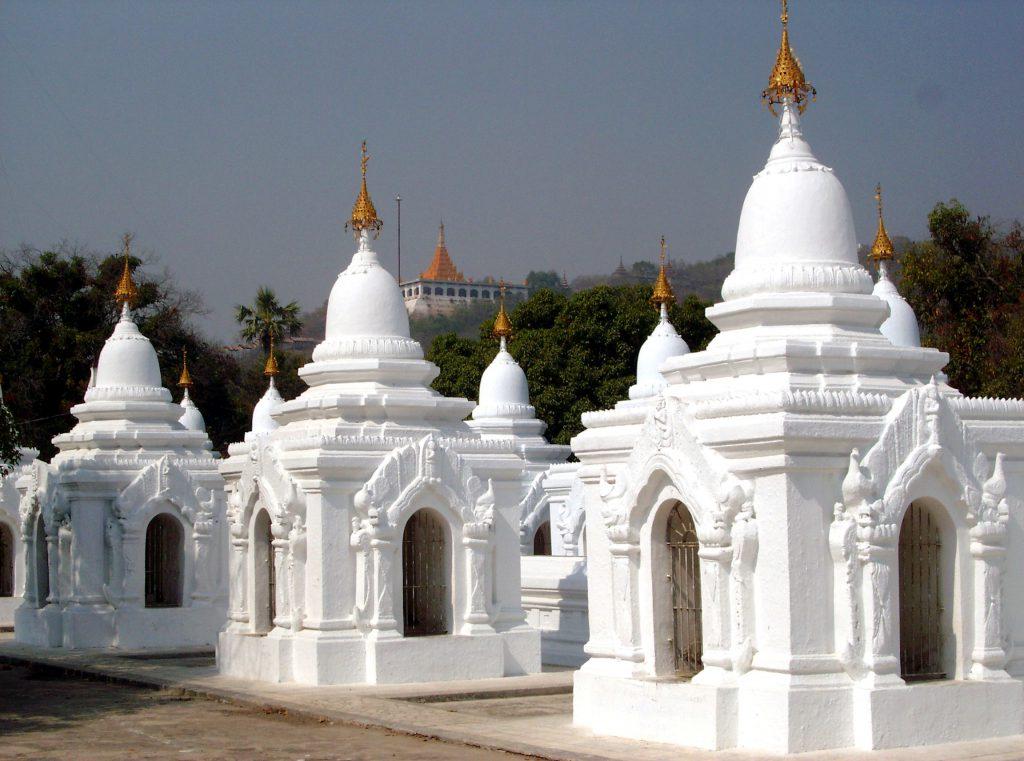 Livre le plus imposat du monde  Pagodes Kuthodaw