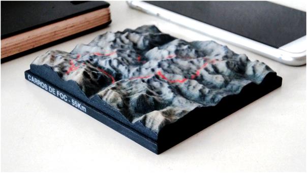 Livre de Randonnée Relief 3D