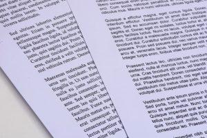 Pages avec polices de caractère