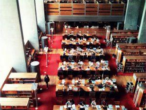 Salle de lecture - Bibliothèque Nationale de France - Paris Tolbiac