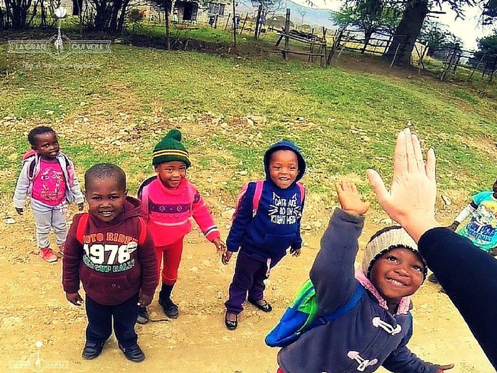 Enfants à Kwazulu-Natal
