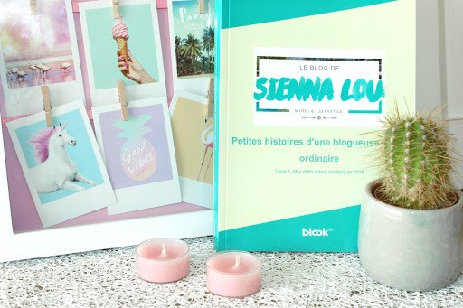 Le Blook de Sienna Lou - Couverture