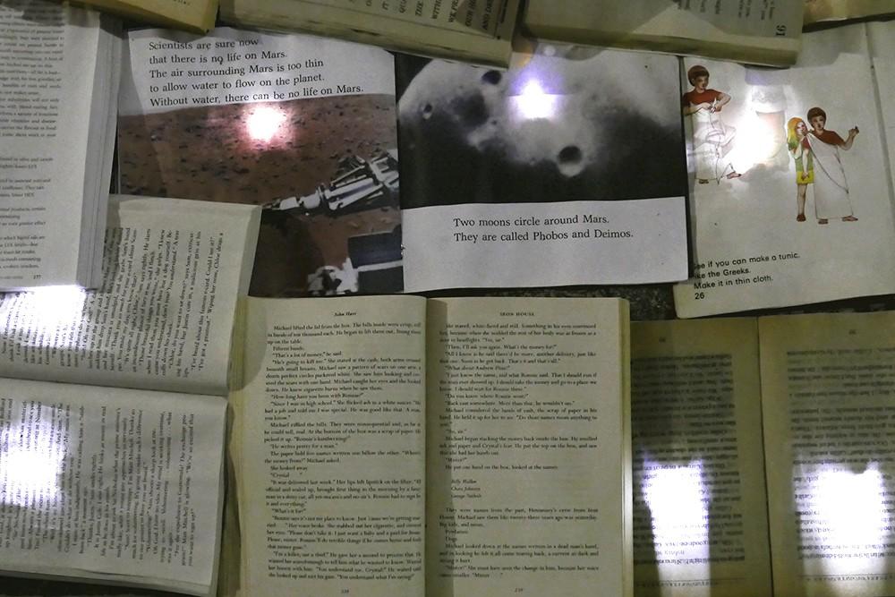 Literature Vs Traffic livres illuminés à Toronto