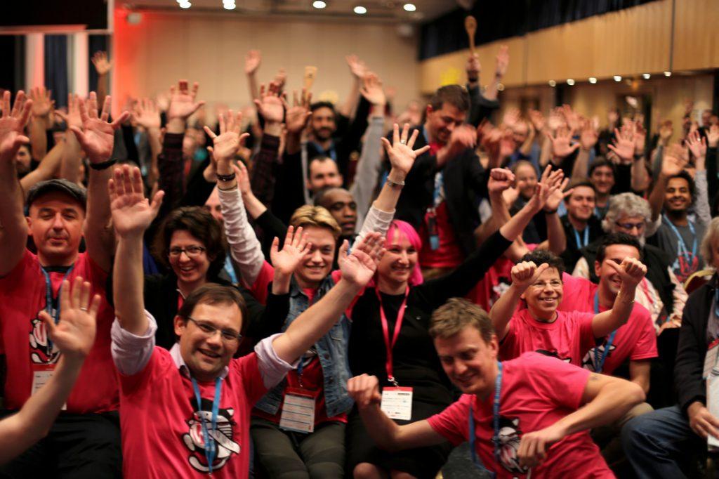 participants de la conférence WORDCAMP