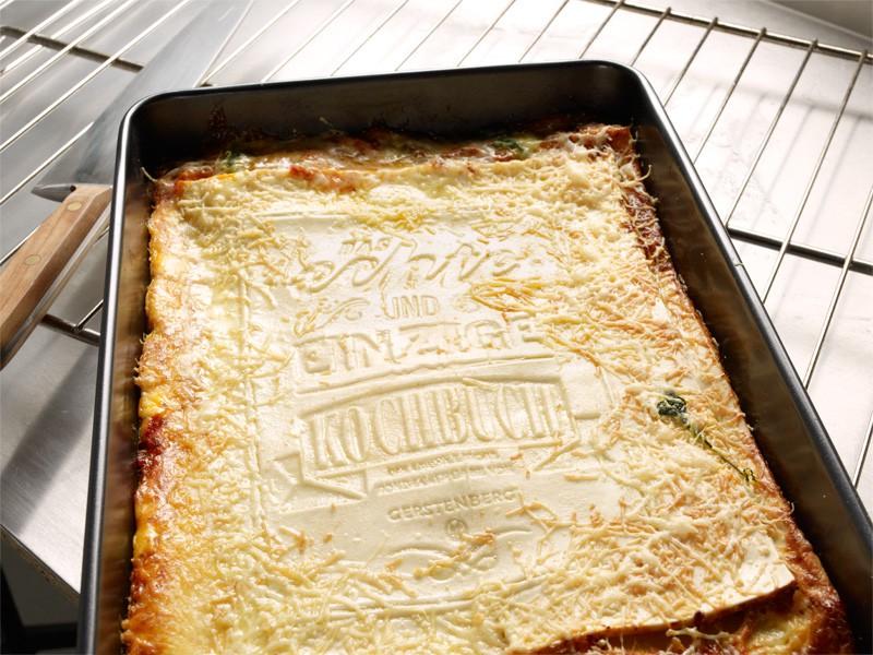livre de recettes de lasagnes