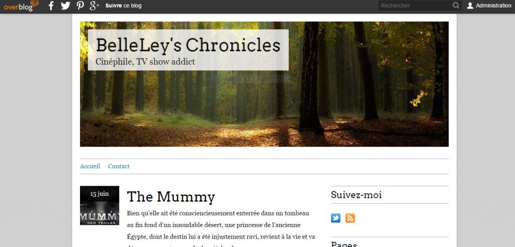 Page blog cinéma de belley