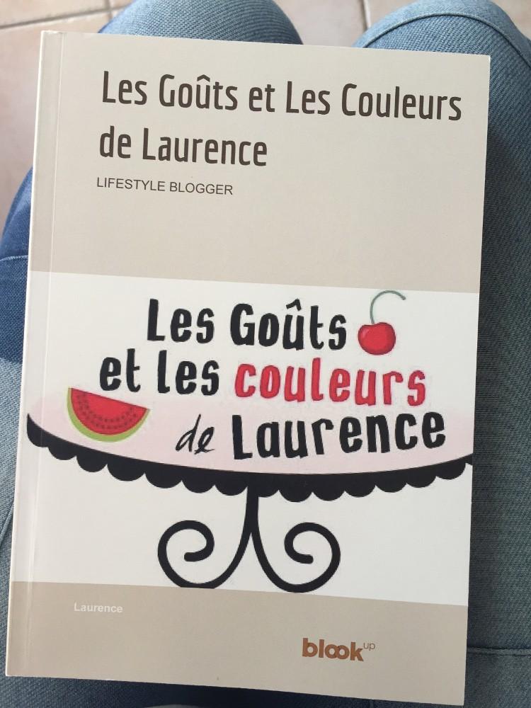 Couverture du livre du blog de Laurence