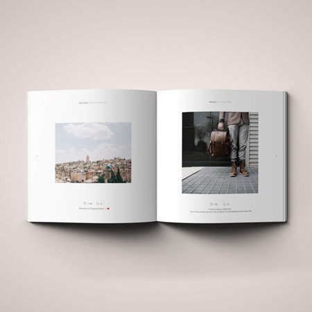 Livre photos Instagram